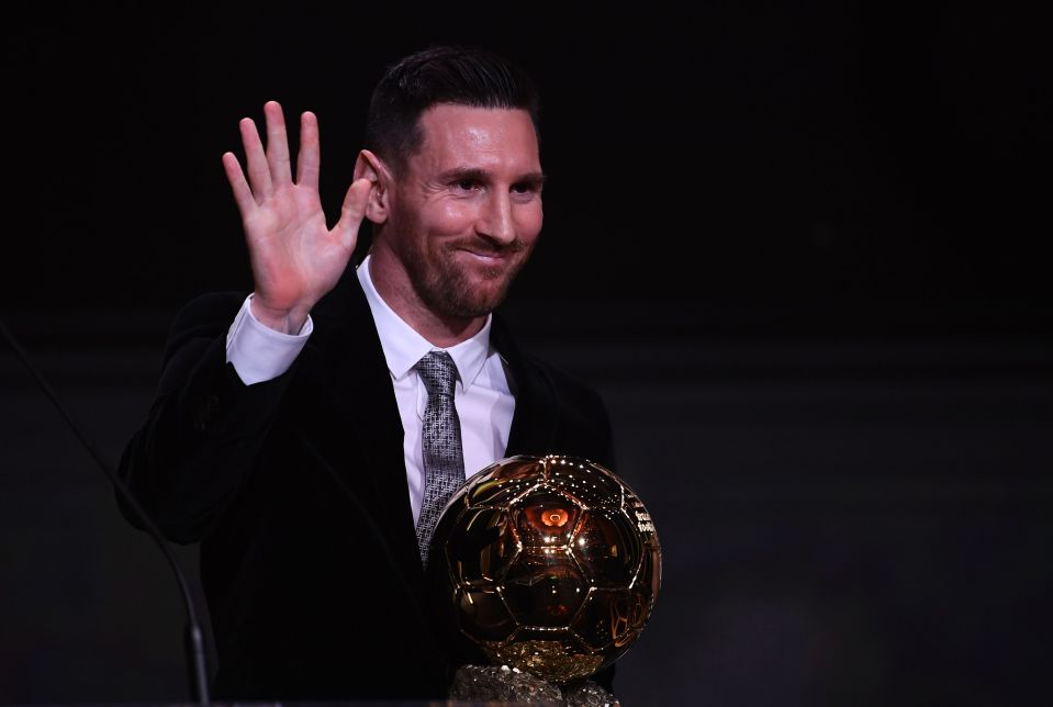 Lionel Messi Awarded The 2019 Ballon d' Or Award