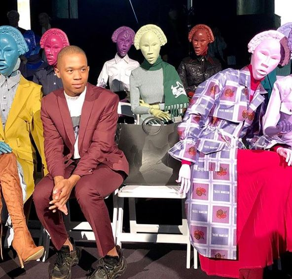 South African Designer Thebe Magugu Showcases His Designs At The Paris Fashion Week