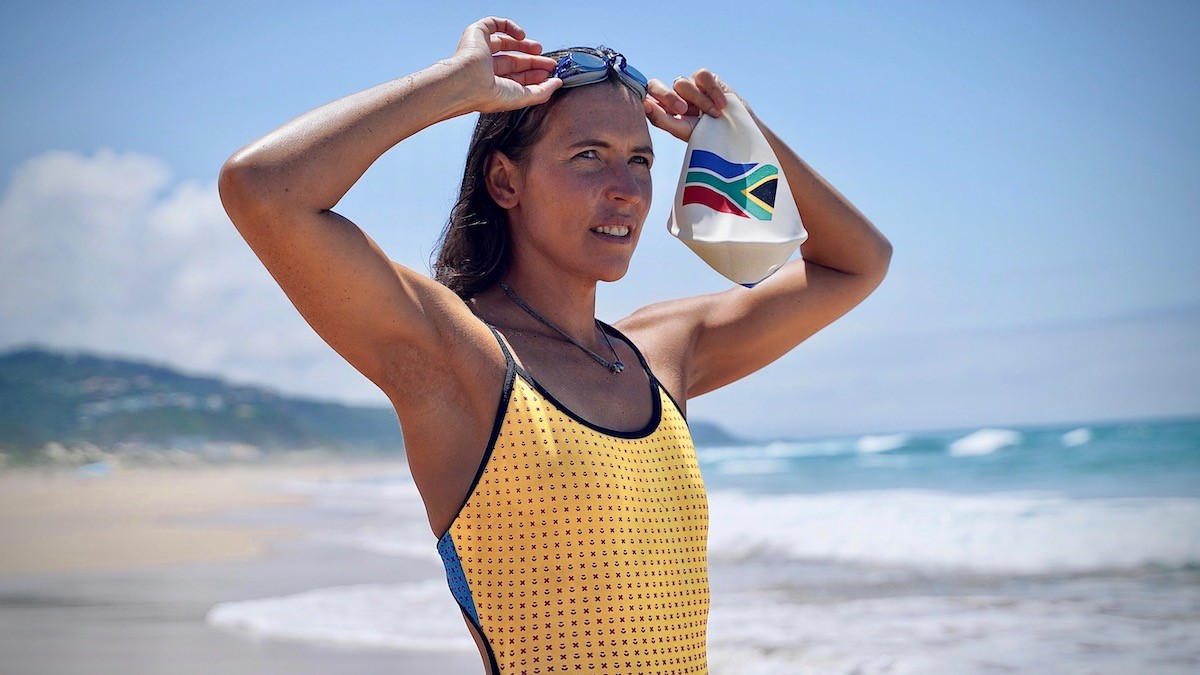 Carina Bruwer First Woman To Cross Nelson Mandela Bay In Grueling And Extreme Solo Charity Swim