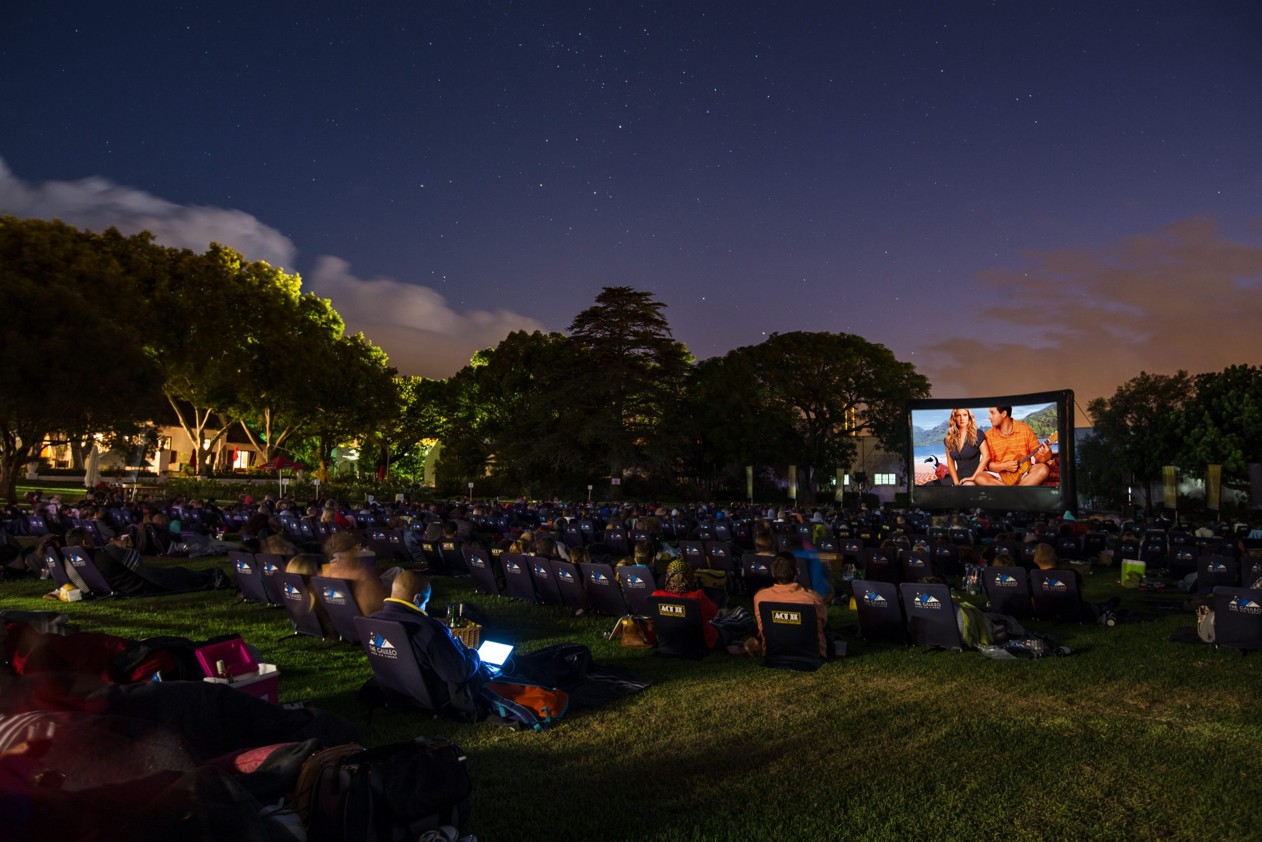 LA LA Land Open Air Screening At Nederburg