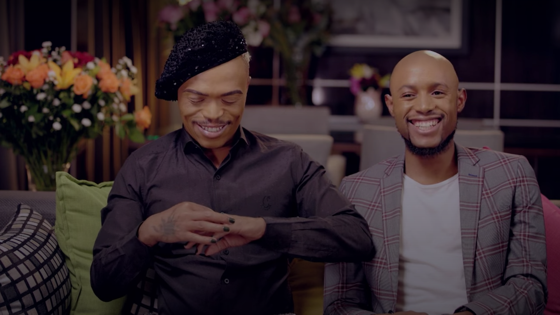 Imported Flowers, Smoking Sushi, & Bahumi Walking Somizi Down The Isle – What To Expect From The Somhale White Wedding