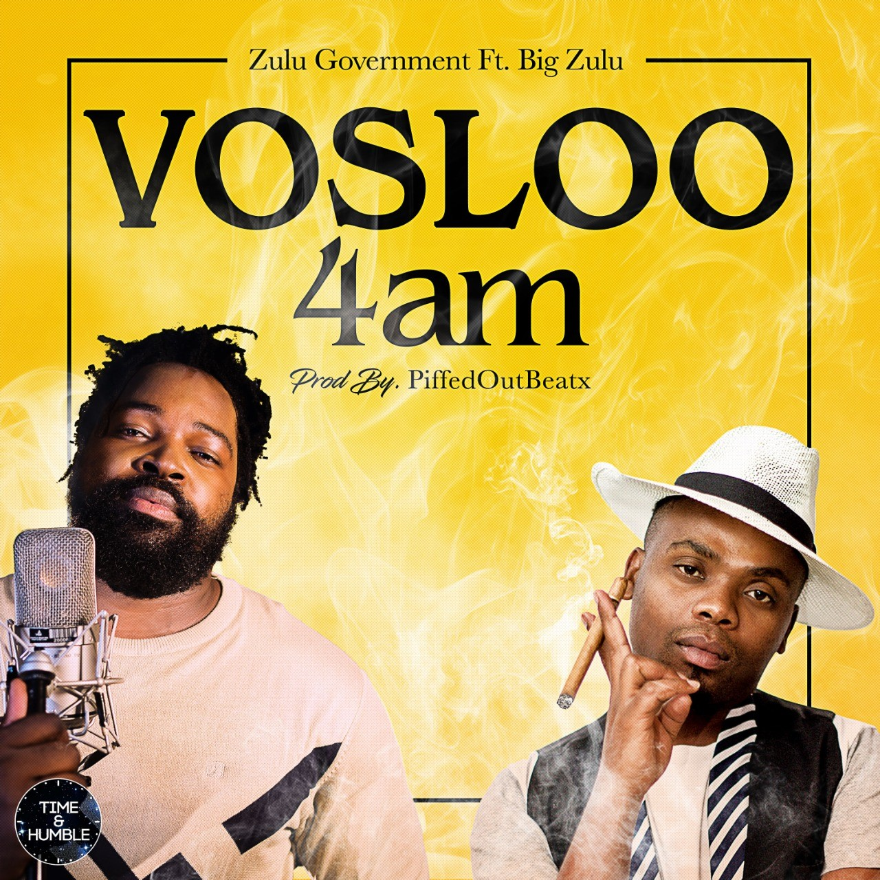 Hip – Hop And Rap Musos Zulu Government And Big Zulu Drop Vosloo 4AM Song