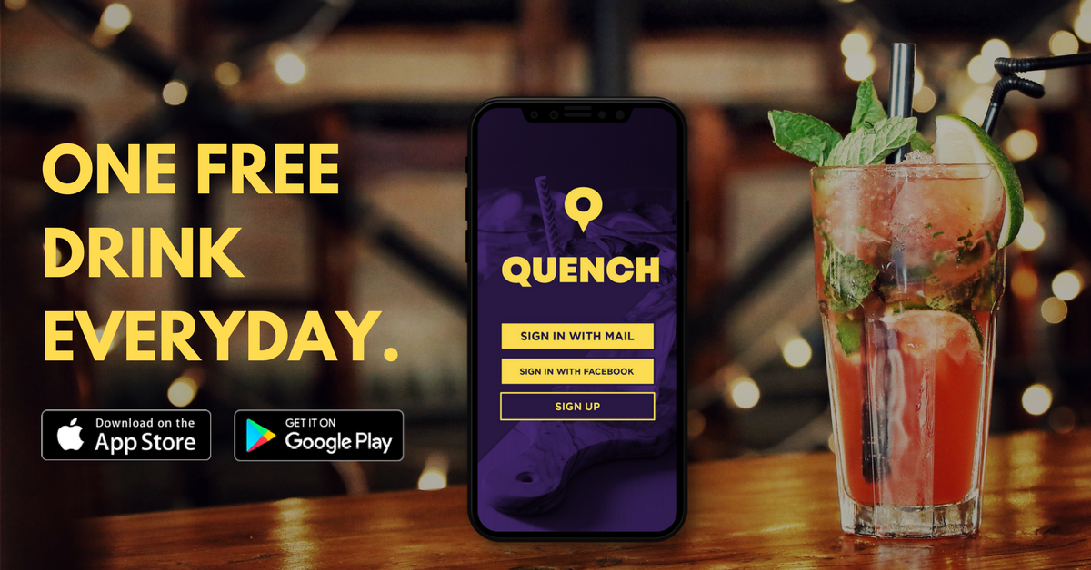 App-Based On-Demand Delivery Service QUENCH Adapts To Restaurant Deliveries With Only 10% Rebate