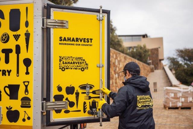 Winery Converts To Food Relief Distribution Point