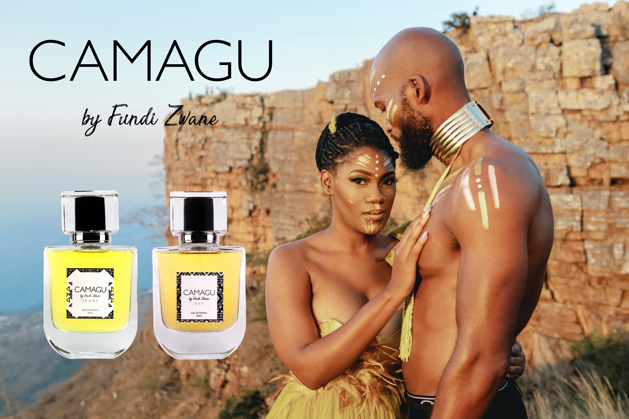 Fundi Zwane Launches Her Debut Fragrance Range, CAMAGU