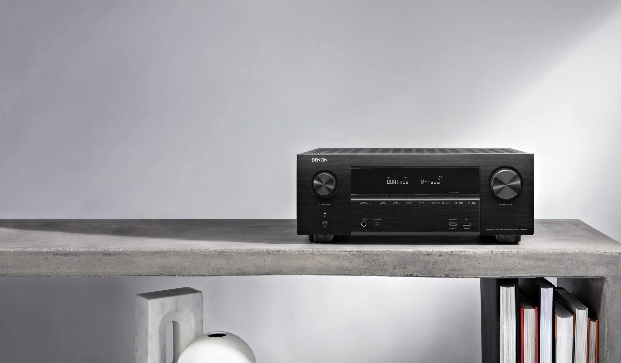 Breathe New Life Into Your Home Theatre With Denon AVR-X3600H – Available Through Homemation