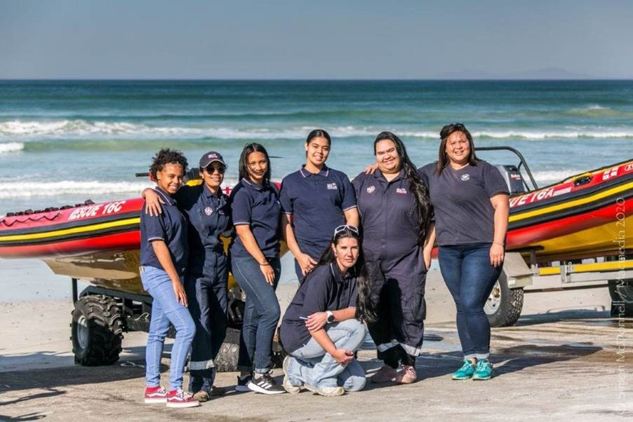 #WomenArePower: NSRI Station 16, Strandfontein (CT) With Most Number Of Women Volunteers