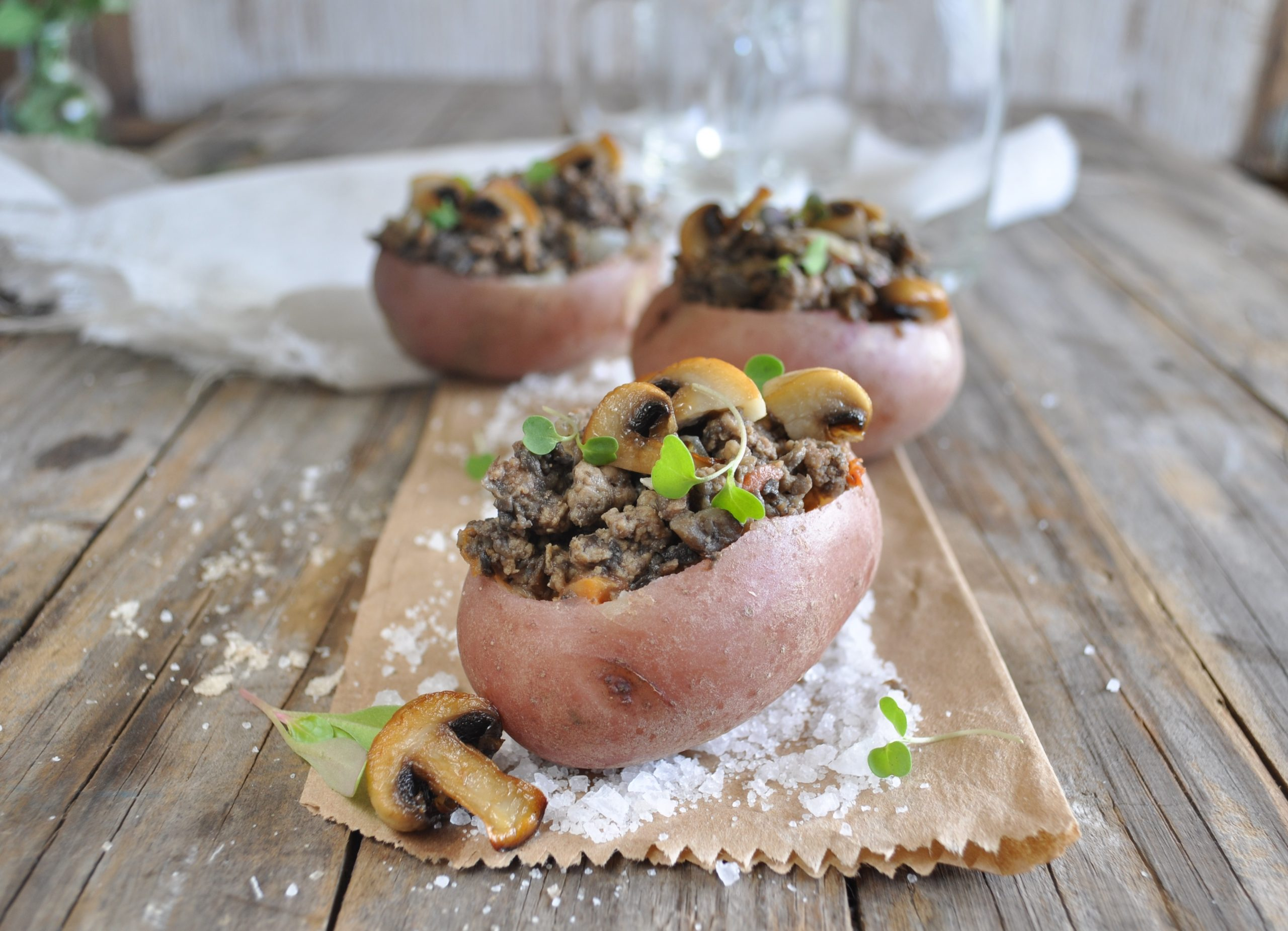 FOOD: Stuffed Potato Recipe By Gina To Celebrate National Baked Potato Day