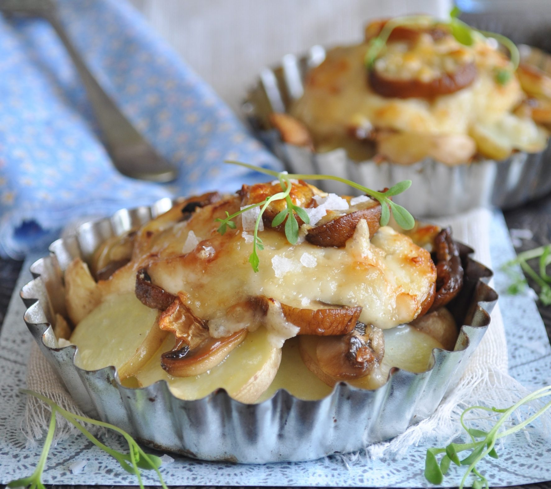 FOOD: Mushroom Potato Bake Recipe By Gina