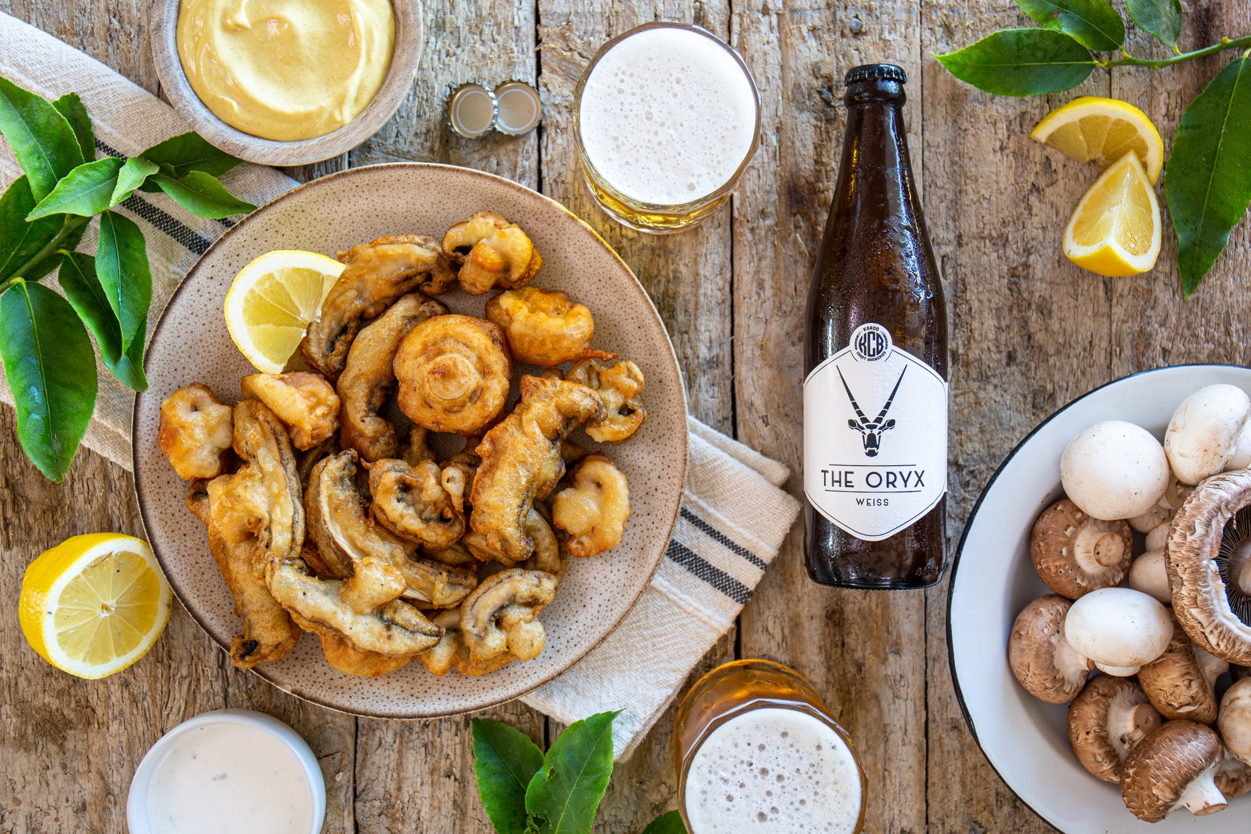 FOOD: The SAMFA Presents The Beer Battered Mushrooms Recipe