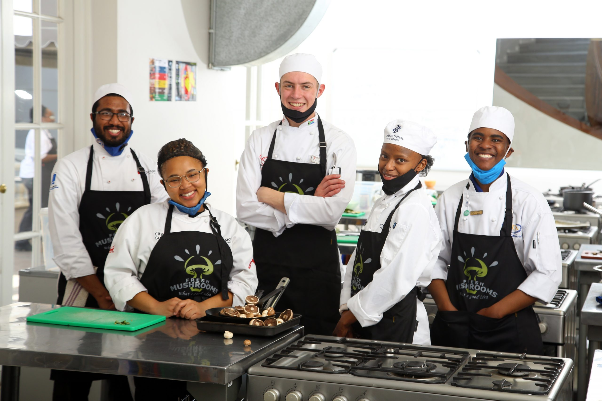 Meet South Africa's Young Chefs On The Rise -#freshmushroomchef