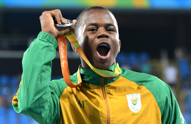South African Paralympic Icon, Ntando Mahlangu Features On 'Rising Phoenix'