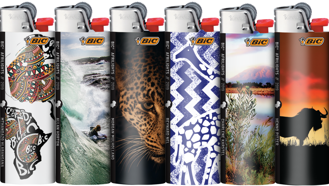 Africa in Your Pocket: BIC Introduces African Inspired Pocket Lighters