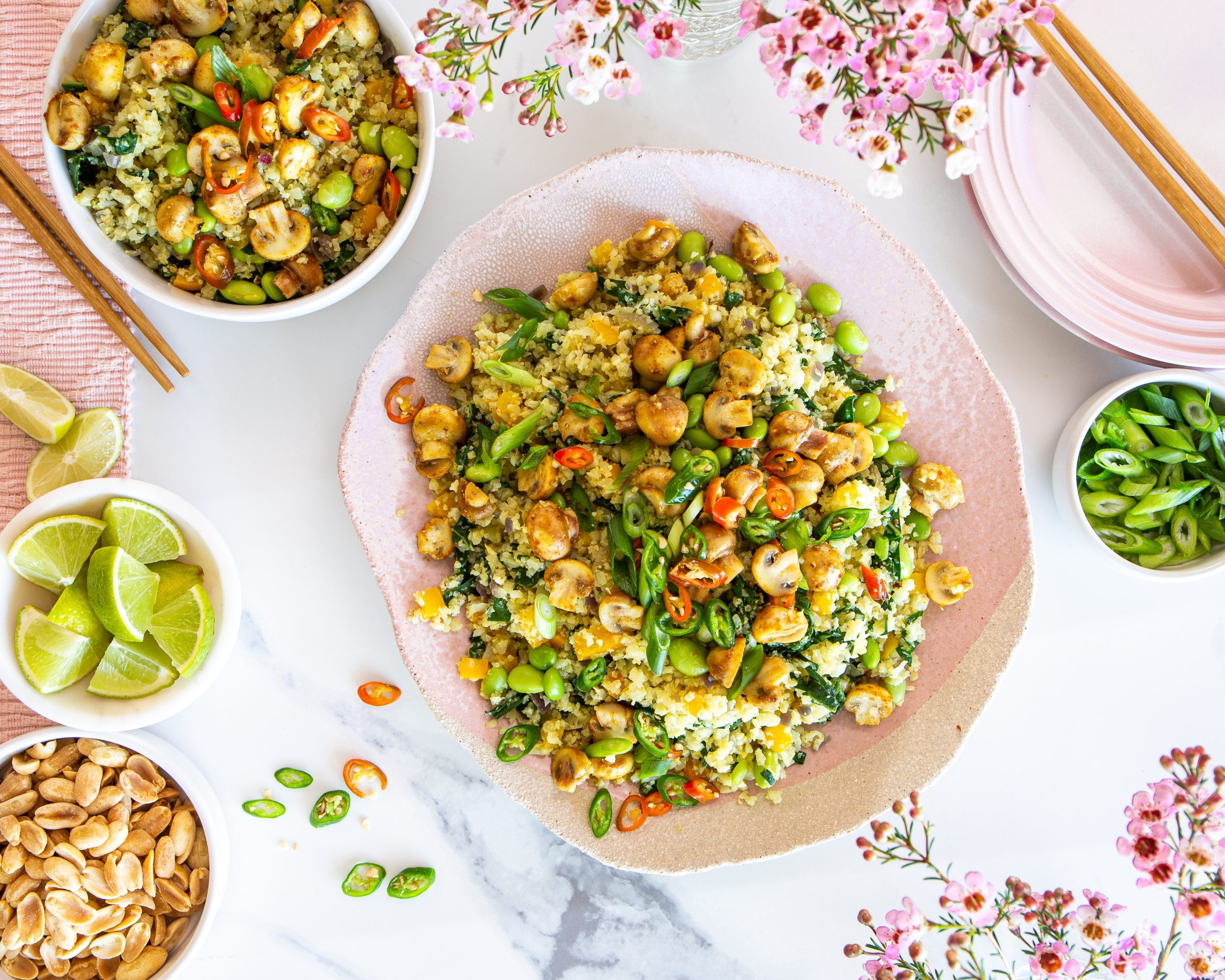 FOOD: SAMFA Baby Button Cauliflower Fried Rice