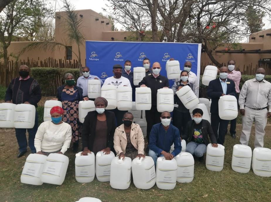 Meropa Donates Water Drums To Disadvantaged Communities