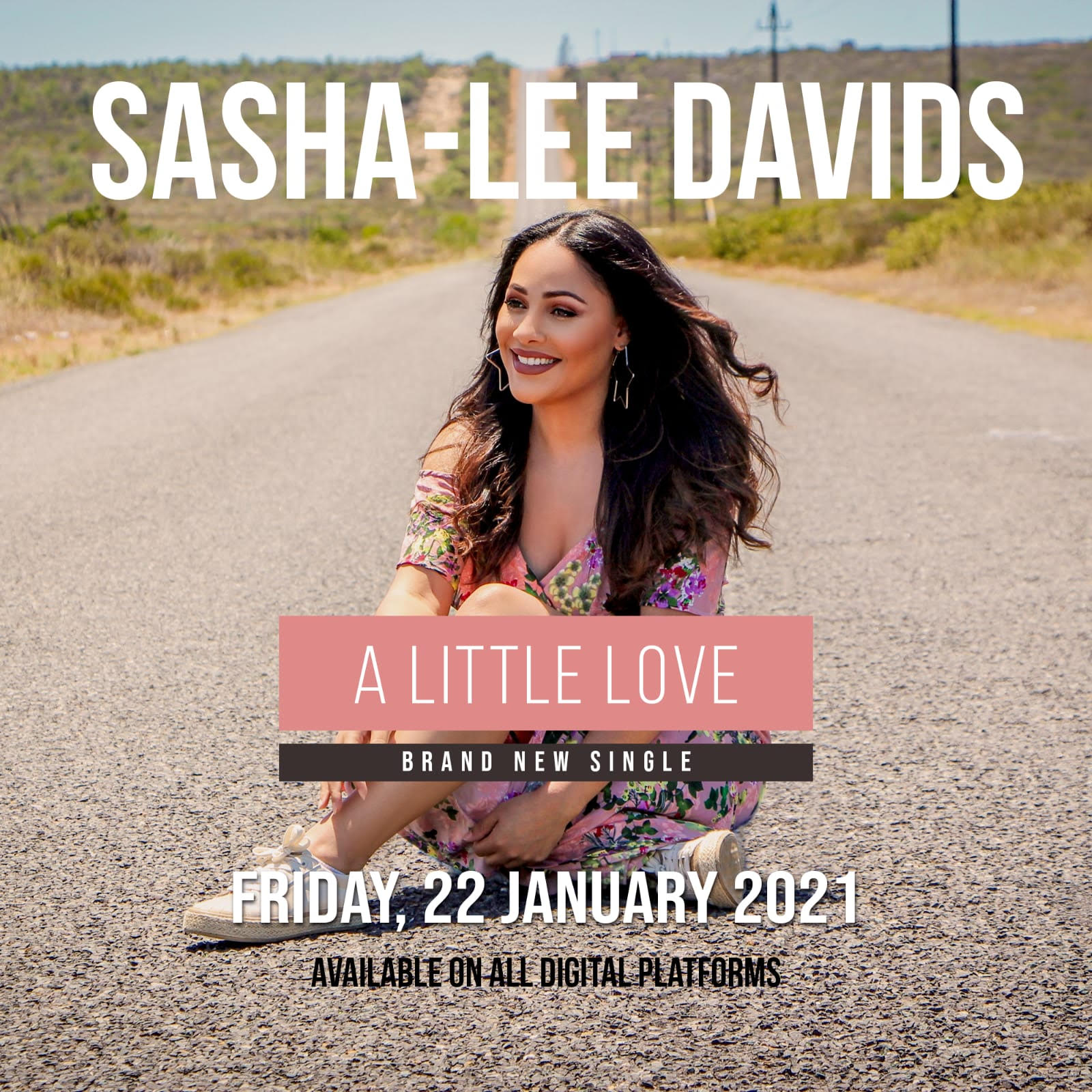 "Sasha-Lee Davids returns to the spotlight with anew single: ""A Little Love"""